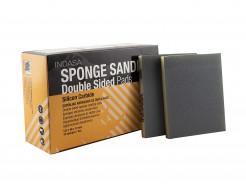 Двухсторонний абразивный блок Indasa Abrasive Sponge Wood 98x122x13 мм P220 - интернет-магазин tricolor.com.ua