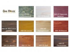 Масло-воск для дерева Oak House Сосна водоотталкивающее с защитой от грибка - интернет-магазин tricolor.com.ua