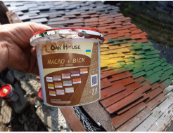 Масло-воск для дерева Oak House Палисандр водоотталкивающее с защитой от грибка - изображение 3 - интернет-магазин tricolor.com.ua
