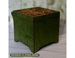 Морилка для дерева Oak House Зеленая сухая - изображение 3 - интернет-магазин tricolor.com.ua