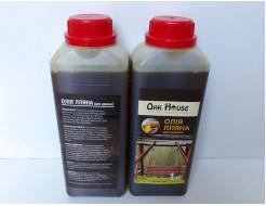Масло льняное для дерева Oak House сохраняет текстуру - интернет-магазин tricolor.com.ua