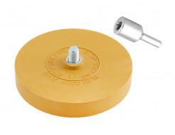 Диск для снятия следов клея c адаптером Indasa Eraser Wheel Kit 150 мм