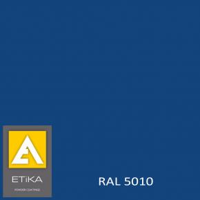 Краска порошковая полиэфирная Etika Elektro Синяя RAL 5010 глянцевая