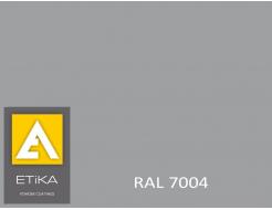 Краска порошковая полиэфирная Etika Elektro Сигнальная серая RAL 7004 шагрень