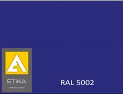 Краска порошковая полиэфирная Etika Tribo Синяя RAL 5002 глянцевая