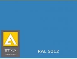 Краска порошковая полиэфирная Etika Tribo Голубая RAL 5012 глянцевая