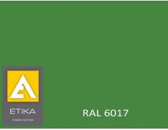 Краска порошковая полиэфирная Etika Tribo Зеленая RAL 6017 глянцевая