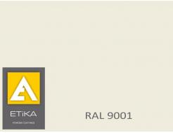 Краска порошковая полиэфирная Etika Tribo Белая RAL 9001 матовая