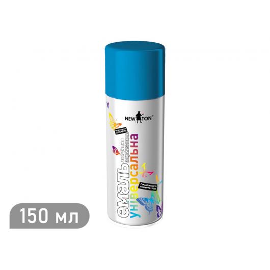 Аэрозоль универсальный New Ton голубой (RAL 5015) 150 мл