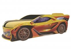 Кровать машина Lamborghini 70х150 ДСП без подъемного механизма