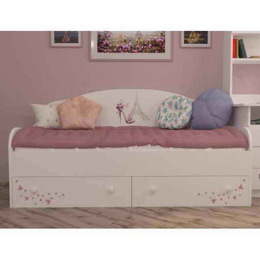 Кроватка диванчик Париж 80х170 ДСП - изображение 2 - интернет-магазин tricolor.com.ua