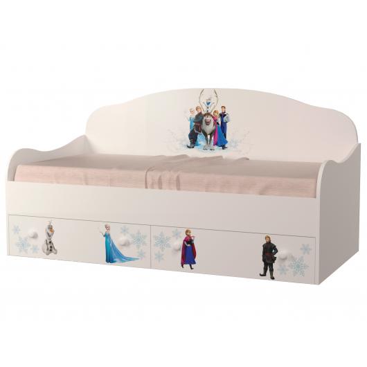 Кроватка диванчик Холодное сердце 80х190 ДСП