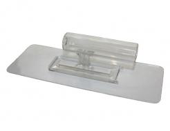 Гладилка Bioplast 245х92 пластиковая прозрачная со съемной ручкой