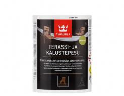Моющее средство Tikkurila Terassi-Ja Kalustepesu Тераси-Я Калустопесу для наружных деревянных поверхностей