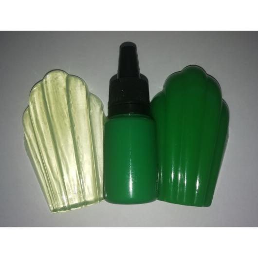 Концентрированный пигментный краситель для смол и полимеров Салатовый - интернет-магазин tricolor.com.ua