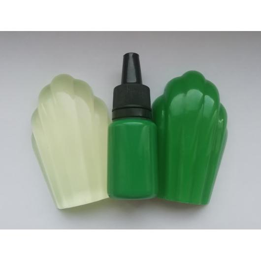 Концентрированный пигментный краситель для смол и полимеров Салатовый - изображение 2 - интернет-магазин tricolor.com.ua