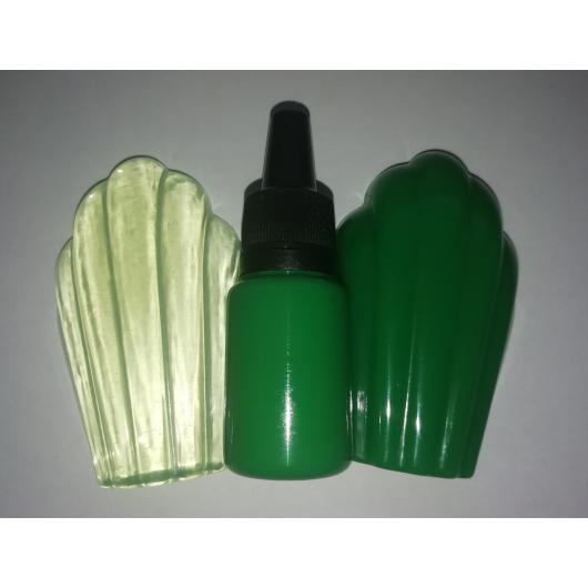 Концентрированный пигментный краситель для смол и полимеров Светло-зеленый - интернет-магазин tricolor.com.ua