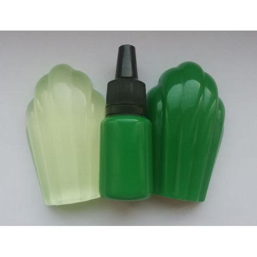 Концентрированный пигментный краситель для смол и полимеров Светло-зеленый - изображение 2 - интернет-магазин tricolor.com.ua