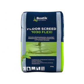 Шпаклевка цементная Bostik Floor Screed 1030 Flexi нивелирмасса 3-20 мм под эластичные покрытия