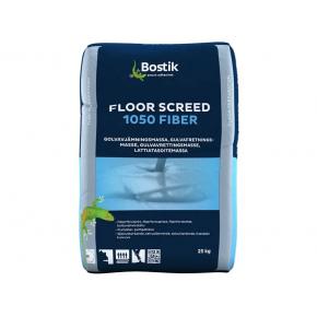 Шпаклевка цементная Bostik Floor Screed 1050 Fiber нивелирмасса 6-50 мм для теплых полов