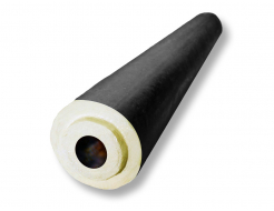 Цилиндр теплоизоляционный ППУ пергамин 48/43 - интернет-магазин tricolor.com.ua