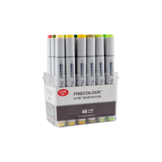 Набор маркеров Finecolour Sketchmarker 48 цветов - интернет-магазин tricolor.com.ua