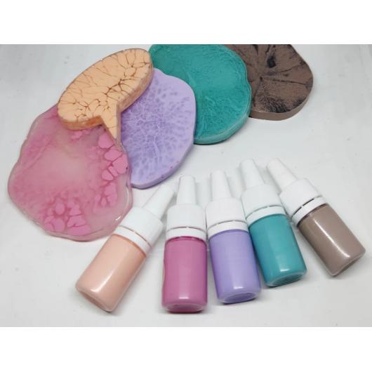 Профессиональный краситель для смол и полиуретанов Marbo Pastello #72 Карибский бирюзовый - изображение 3 - интернет-магазин tricolor.com.ua