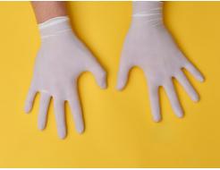 Перчатки латексные Medicom SafeTouch M с пудрой белые (упаковка 50 пар) - изображение 2 - интернет-магазин tricolor.com.ua