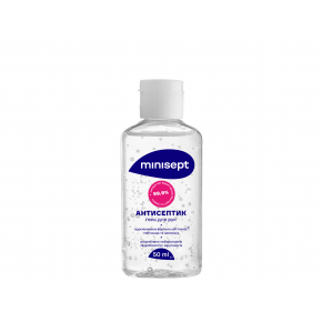 Антисептик Minisept гель спиртосодержащий дезинфекция для рук и кожи