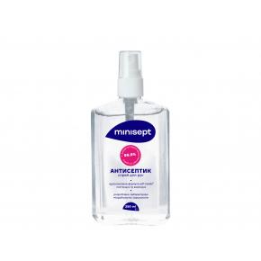 Антисептик Minisept жидкость спиртосодержащая дезинфекция для рук и кожи спрей - изображение 2 - интернет-магазин tricolor.com.ua
