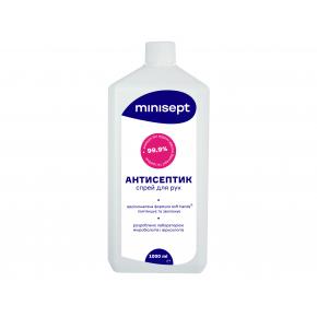 Антисептик Minisept жидкость спиртосодержащая дезинфекция для рук и кожи с крышкой