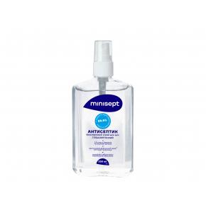Антисептик Minisept жидкость без спирта дезинфекция для рук и кожи спрей - изображение 2 - интернет-магазин tricolor.com.ua
