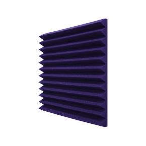 Панель «Клин» из негорючего (самозатухающего) акустического поролона EchoFom «Brilliance» 600х600х70 мм фиолетовая