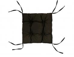 Подушка на стул Dotinem коричневая 40х40