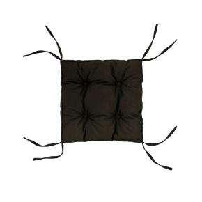 Подушка на стул Dotinem Color коричневая 40х40