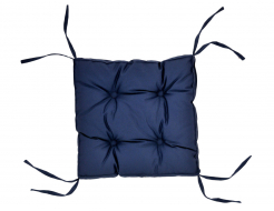 Подушка на стул Dotinem синяя 40х40 - интернет-магазин tricolor.com.ua