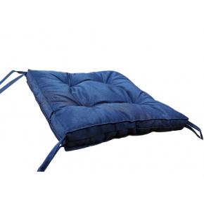Подушка на стул Dotinem Color синяя 40х40 - изображение 2 - интернет-магазин tricolor.com.ua