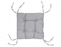 Подушка на стул Dotinem серая 40х40