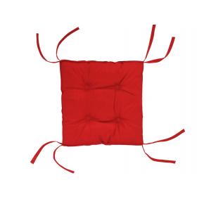 Подушка на стул Dotinem Color красная 40х40