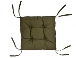 Подушка на стул Dotinem хаки 40х40