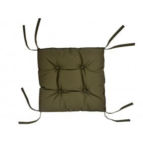 Подушка на стул Dotinem Color хаки 40х40