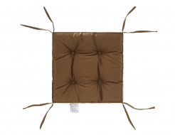 Подушка на стул Dotinem капучино 40х40