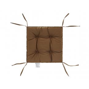 Подушка на стул Dotinem Color капучино 40х40