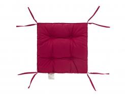 Подушка на стул Dotinem лиловая 40х40
