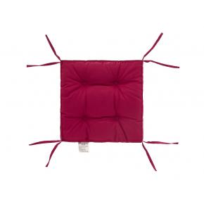 Подушка на стул Dotinem Color лиловая 40х40