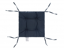 Подушка на стул Dotinem мокрый асфальт 40х40