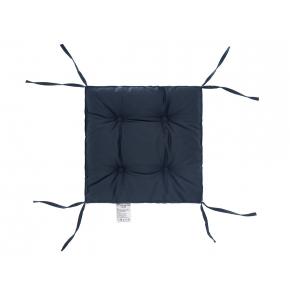 Подушка на стул Dotinem Color мокрый асфальт 40х40