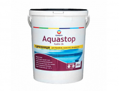 Двухкомпонентная эластичная гидроизоляция Eskaro Aquastop Hydro 2К для бассейнов, емкостей, фундаментов
