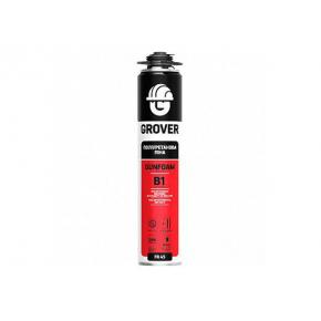 Пена монтажная Grover FR 45 (B1) профессиональная огнеупорная