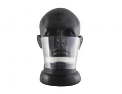 Маска защитная пластиковая для лица S-Screen Standart Mouthplex 01 - изображение 2 - интернет-магазин tricolor.com.ua